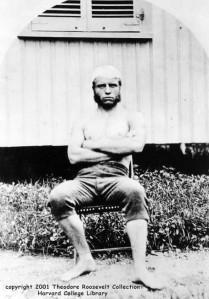 Roosevelt – the wiry Harvard freshman
